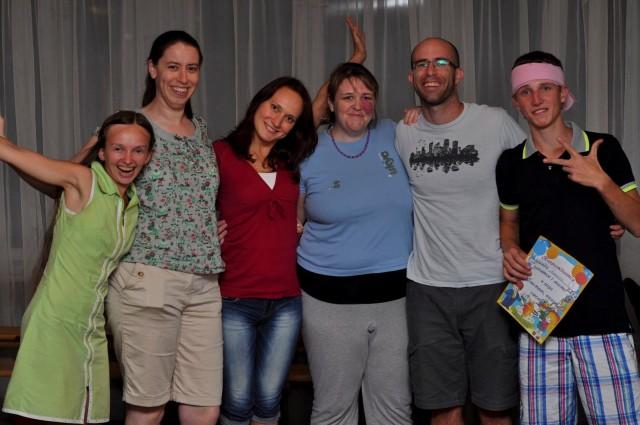 Наш молодёжный лагерь 2013