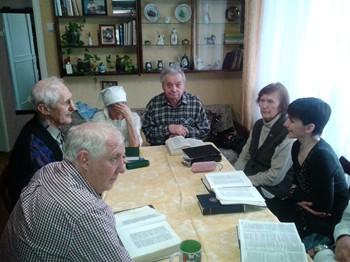 Посещение российских братьев и сестер во Христе весной 2014 года