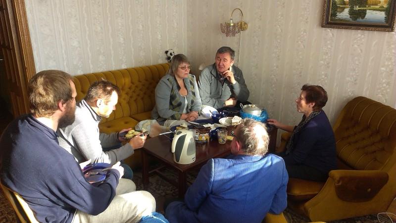 Визит в Беларусь осенью 2016г.
